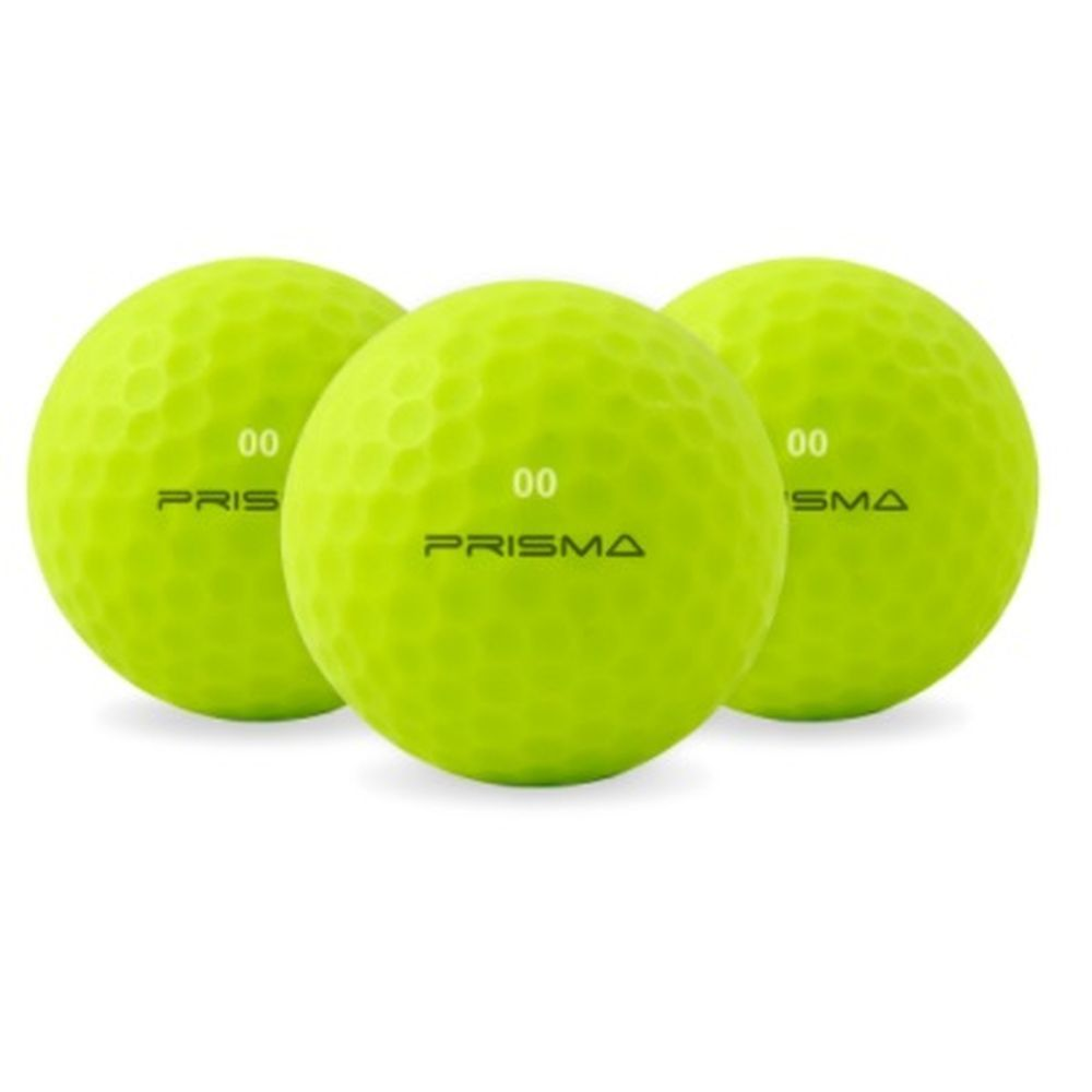Masters Prisma Flouro Matt TI Golf Balls (Bag of 12) -DS