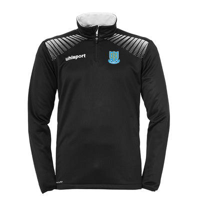 Ballymena United Goal 1/4 Zip Top Black/White