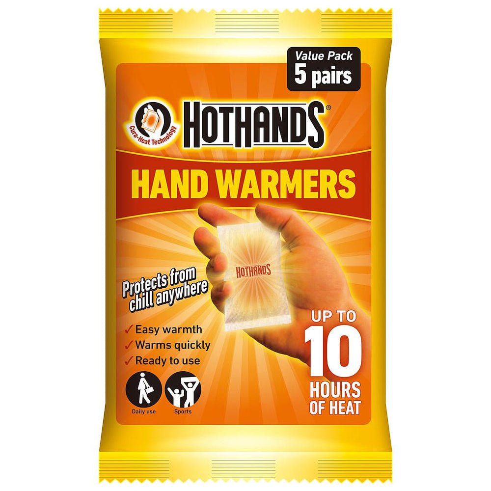Hot Hands Hand Warmers 5 Pack -DS