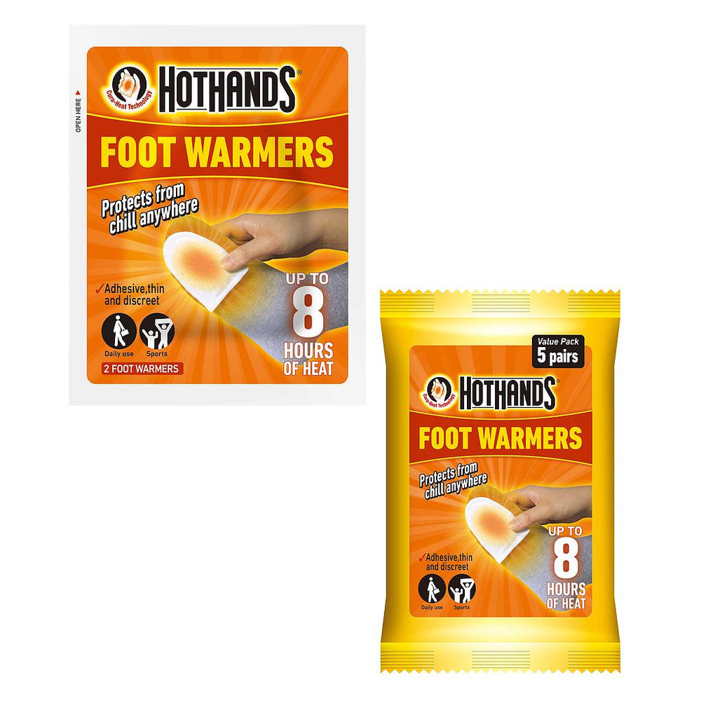 Hot Hands Foot/Toe Warmers -DS