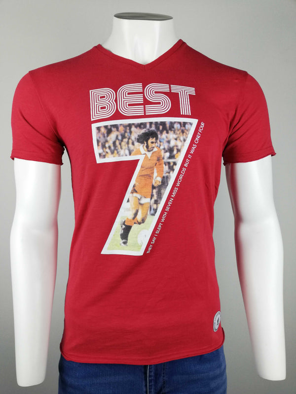 George Best Seven Miss World T-Shirt