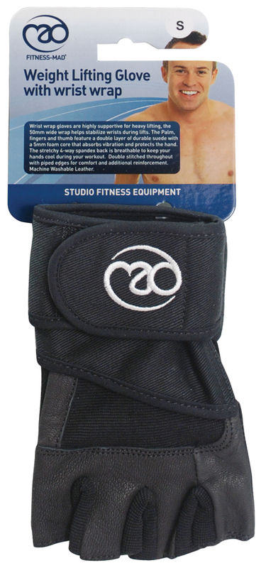 Fitness Mad Weight Wrist Wrap Gloves -DS
