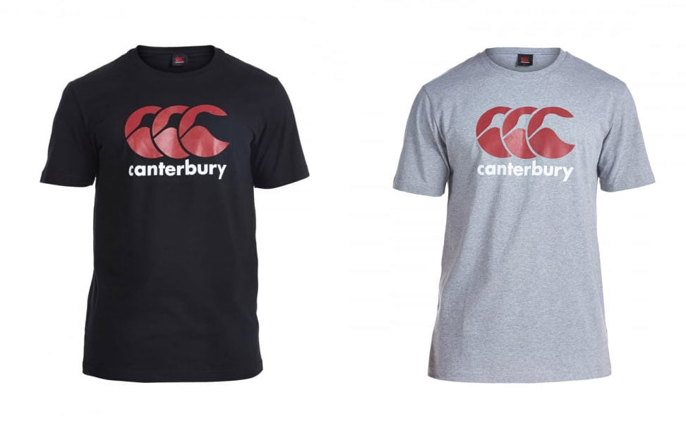 Canterbury Logo T-Shirt Grey -DS