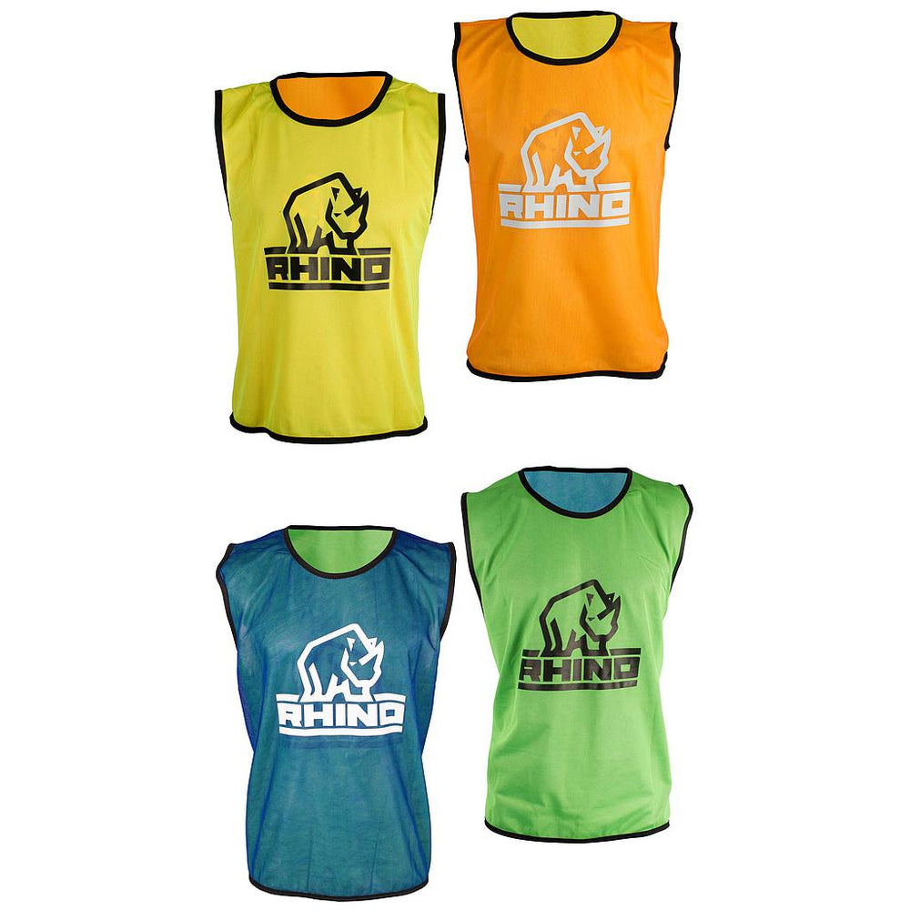 Rhino Reversible Training Vests Orange -DS