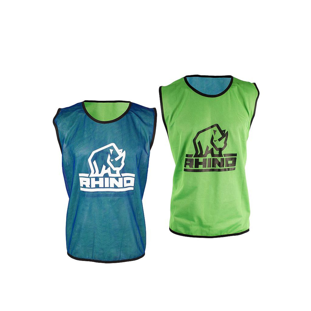 Rhino Reversible Training Vests Blue -DS