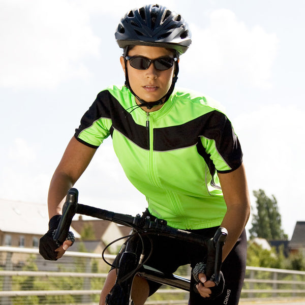 Cool -Dry S/S Full Zip Cycling Jersey