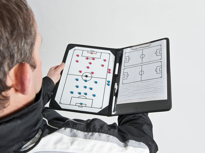 Precision Pro Soccer Coaches Tactic Folder -DS