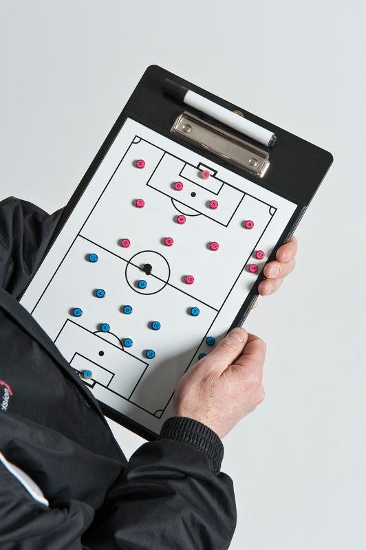 Precision Soccer Coaches Double-Sided Clipboard -DS