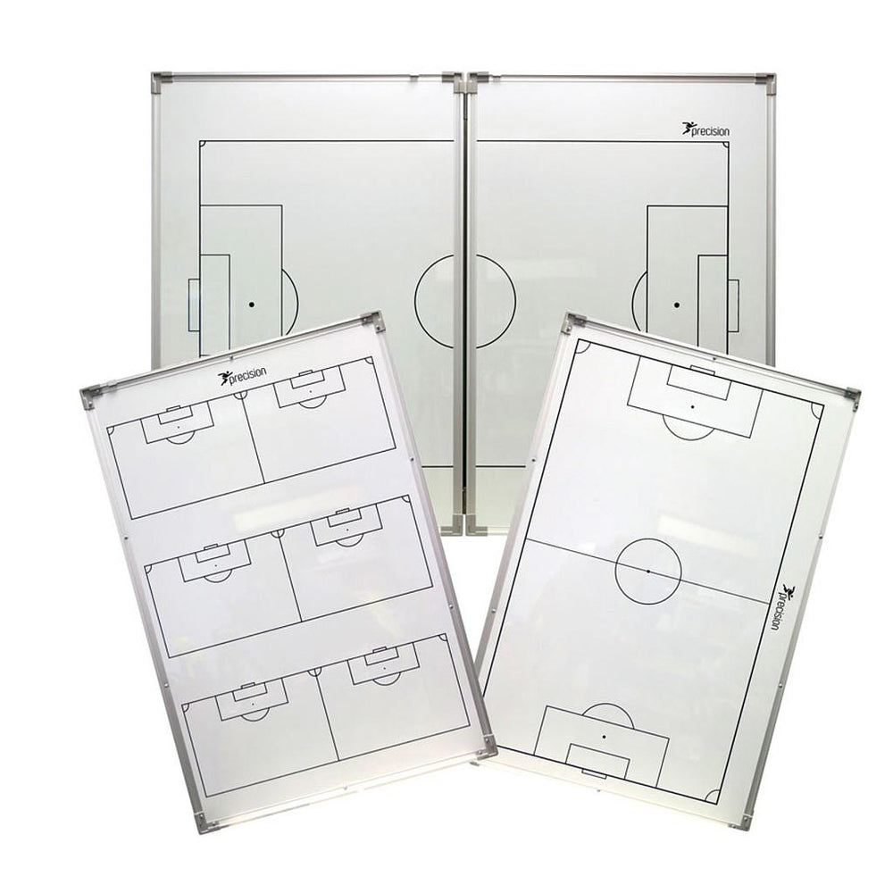 "Precision Double-Sided ""Folding"" Soccer Tactics Board -DS"