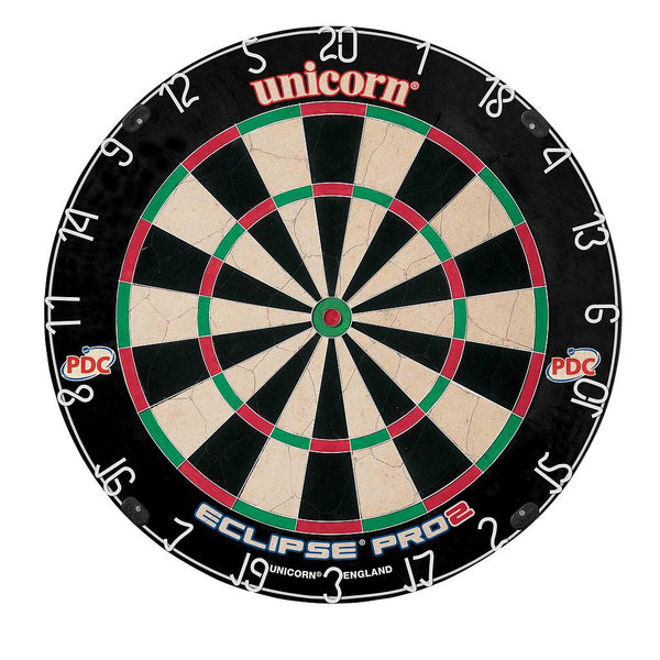 Unicorn Eclipse Pro2 Bristle Dartboard - PDC Endorsed -DS