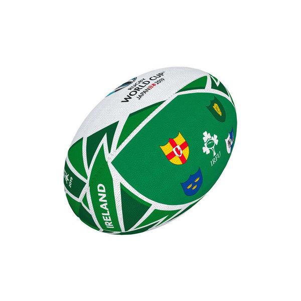 RWC 2019 Flag Ireland Rugby Mini Ball