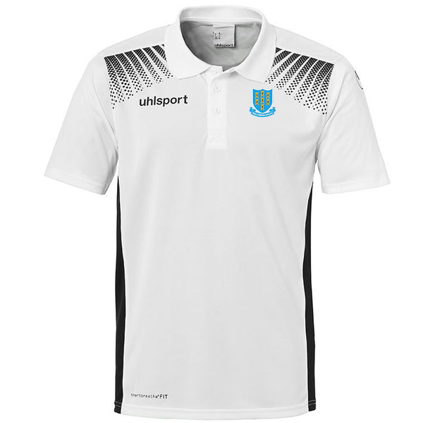 Ballymena United Polo Shirt - White