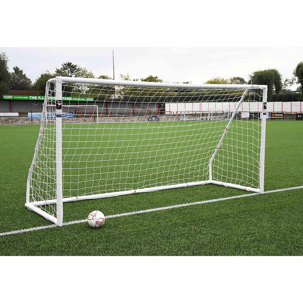 Precision Football Match Goal Posts (BS 8462 approved) -  12 x 6 -DS