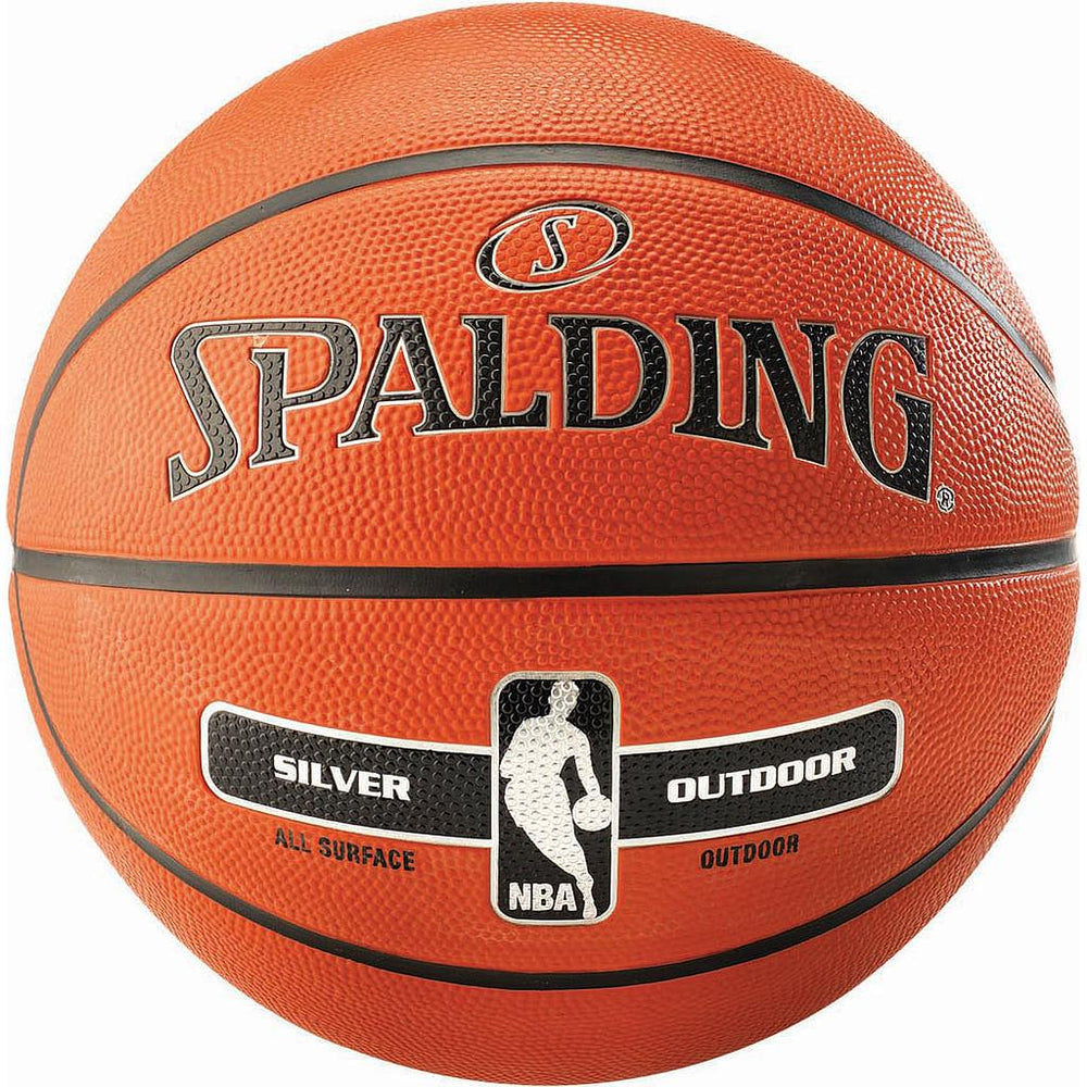 Spalding NBA Silver Outdoor Basketball -Size 3 -DS
