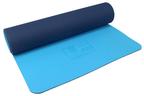 Urban Fitness  6mm TPE Yoga Mat - Blue -DS