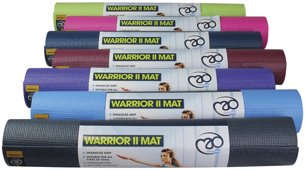 Yoga-Mad Warrior II Mat 4mm -Burg -DS