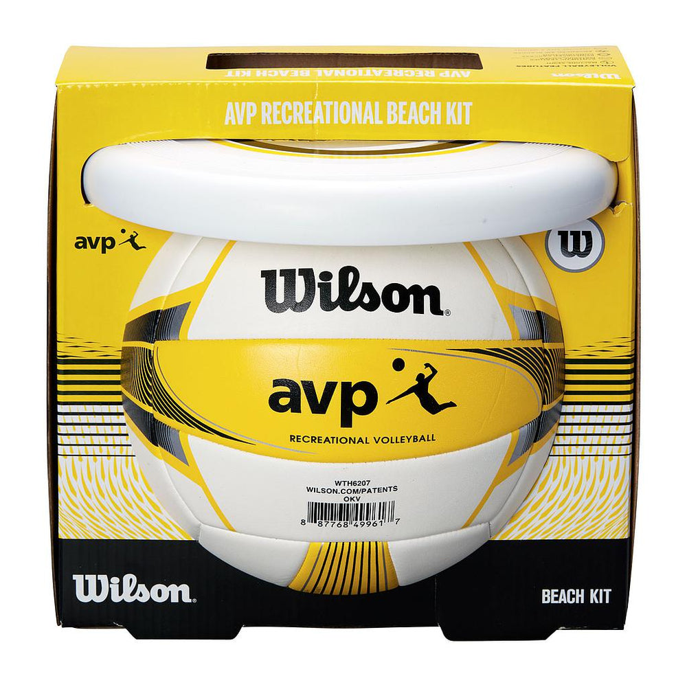 Wilson AVP Recreation Kit II (Volleyball & Flying Disc) -DS