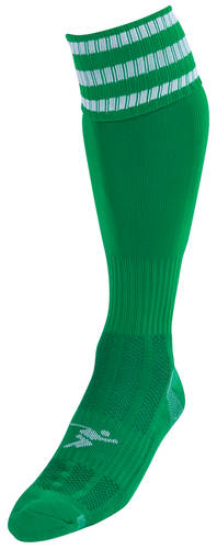 Precision Pro 3 Stripe Football Sock