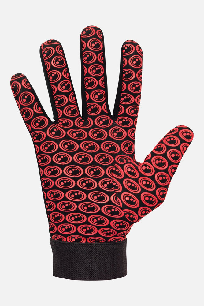 Velocity Thermal Full Finger Gloves - Black / Red