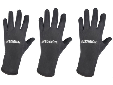3-PACK Glove and Running Liners Men's RACE - Norrgear best winter gloves snow mittens