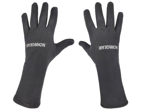 Glove & Running Liners Women's LONG GAUNTLET - Norrgear best winter gloves snow mittens