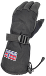 Women's Winter Ski Glove Leather - HELSINKI - Norrgear best winter gloves snow mittens