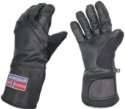 Women's Winter Glove Leather - OSLO - Norrgear best winter gloves snow mittens