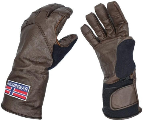Men's Winter Glove Leather - OSLO - Norrgear best winter gloves snow mittens