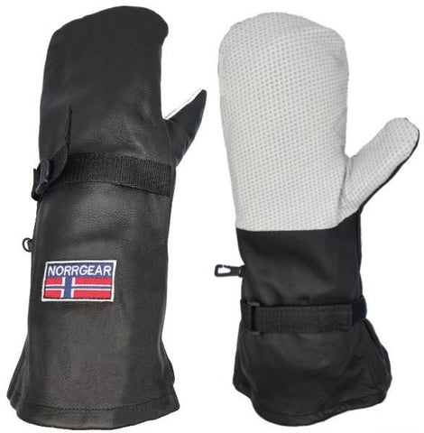 Outer Overmitt Shell Leather Women's - SHENYANG - Norrgear best winter gloves snow mittens