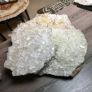 Load image into Gallery viewer, Large Quartz Crystal Cluster