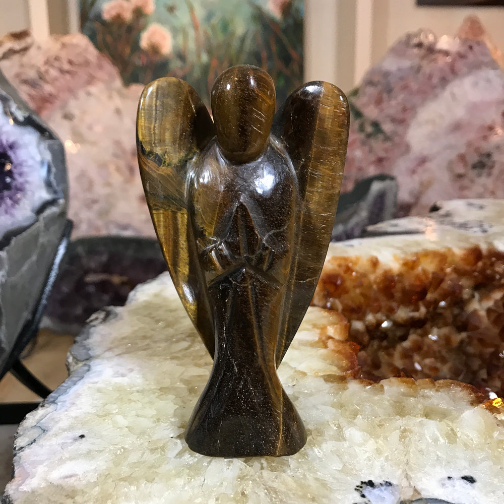 Tigers Eye Angel
