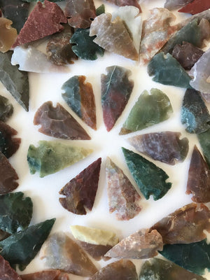 Load image into Gallery viewer, Agate Arrowhead