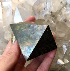 Load image into Gallery viewer, Pyrite Octahedron