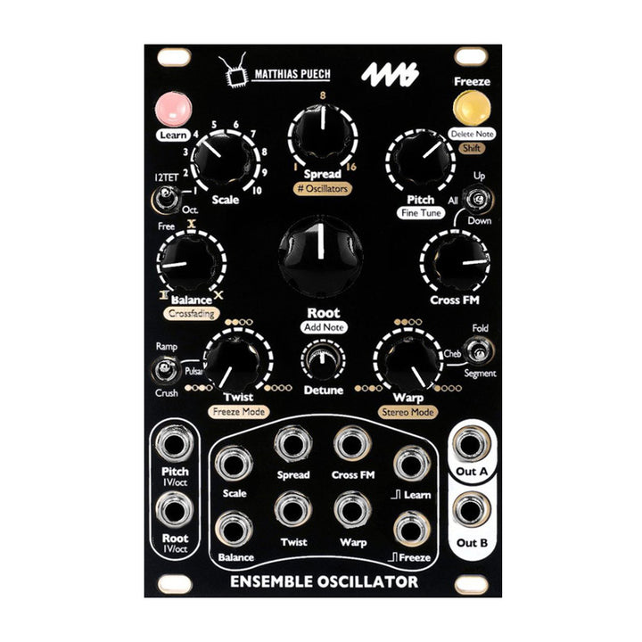 4ms Ensemble Oscillator - Black