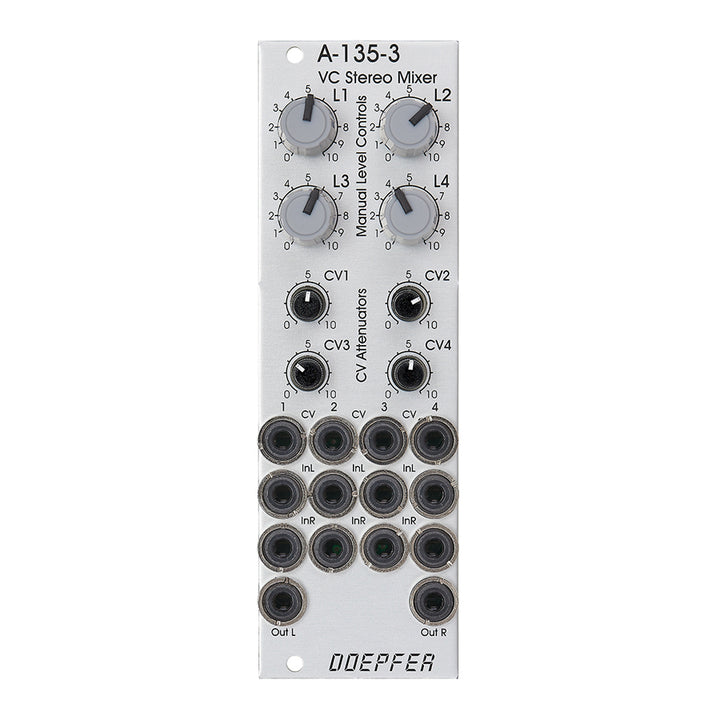 Doepfer A-135-3 Voltage Controlled  Stereo Mixer