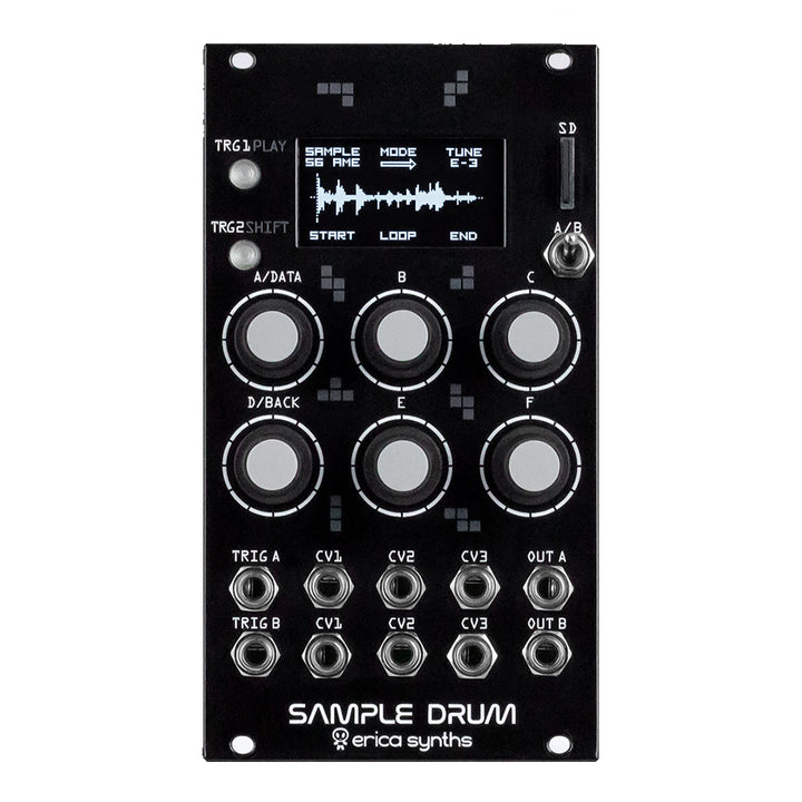 Erica Synths Sample Drum Percussion Source
