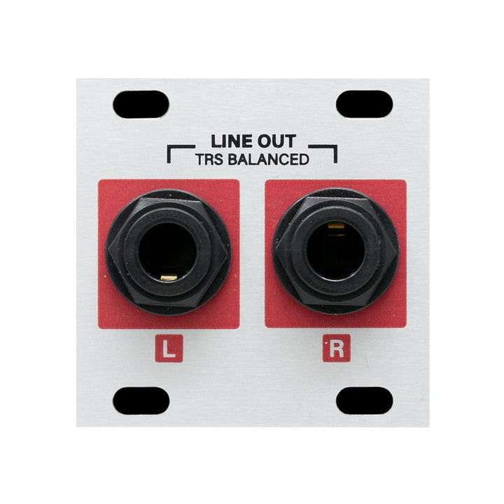 Intellijel Stereo Line Out Jacks 1U