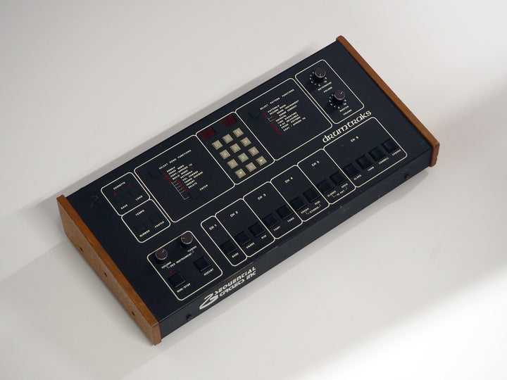 Vintage Sequential Circuits DrumTraks