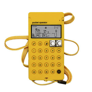 Teenage Engineering CA-X Pocket Operator Case Yellow