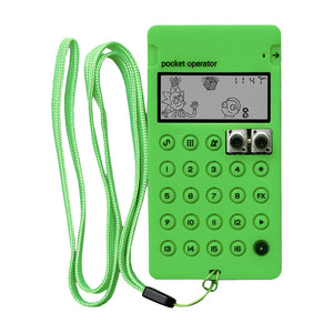 Teenage Engineering CA-X Ricky & Morty Green Pocket Operator case