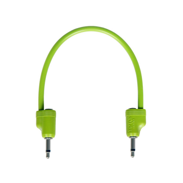 Tiptop Audio Stackcable Green - 20cm / 8""