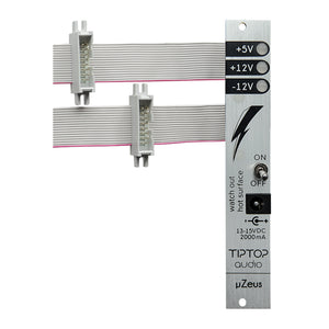 Tiptop Audio uZEUS with Flying Busboard - Silver