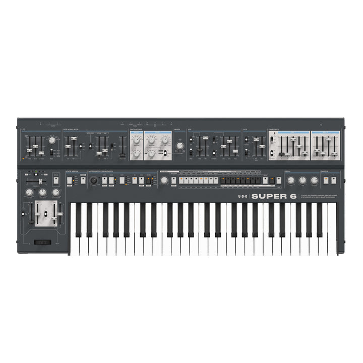 UDO Super 6 Hybrid Polysynth - Black