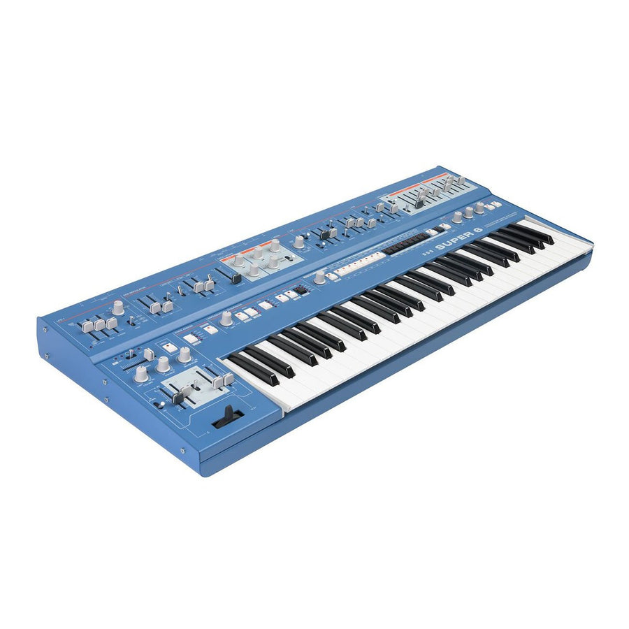 UDO Super 6 Hybrid Polysynth - Blue