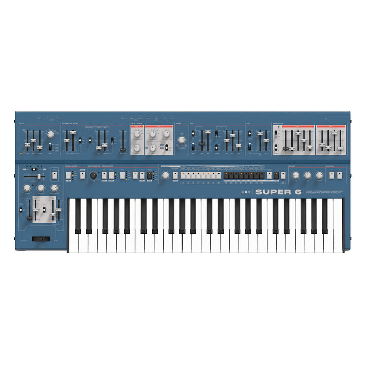 UDO Audio Super 6 Blue Synthesizer