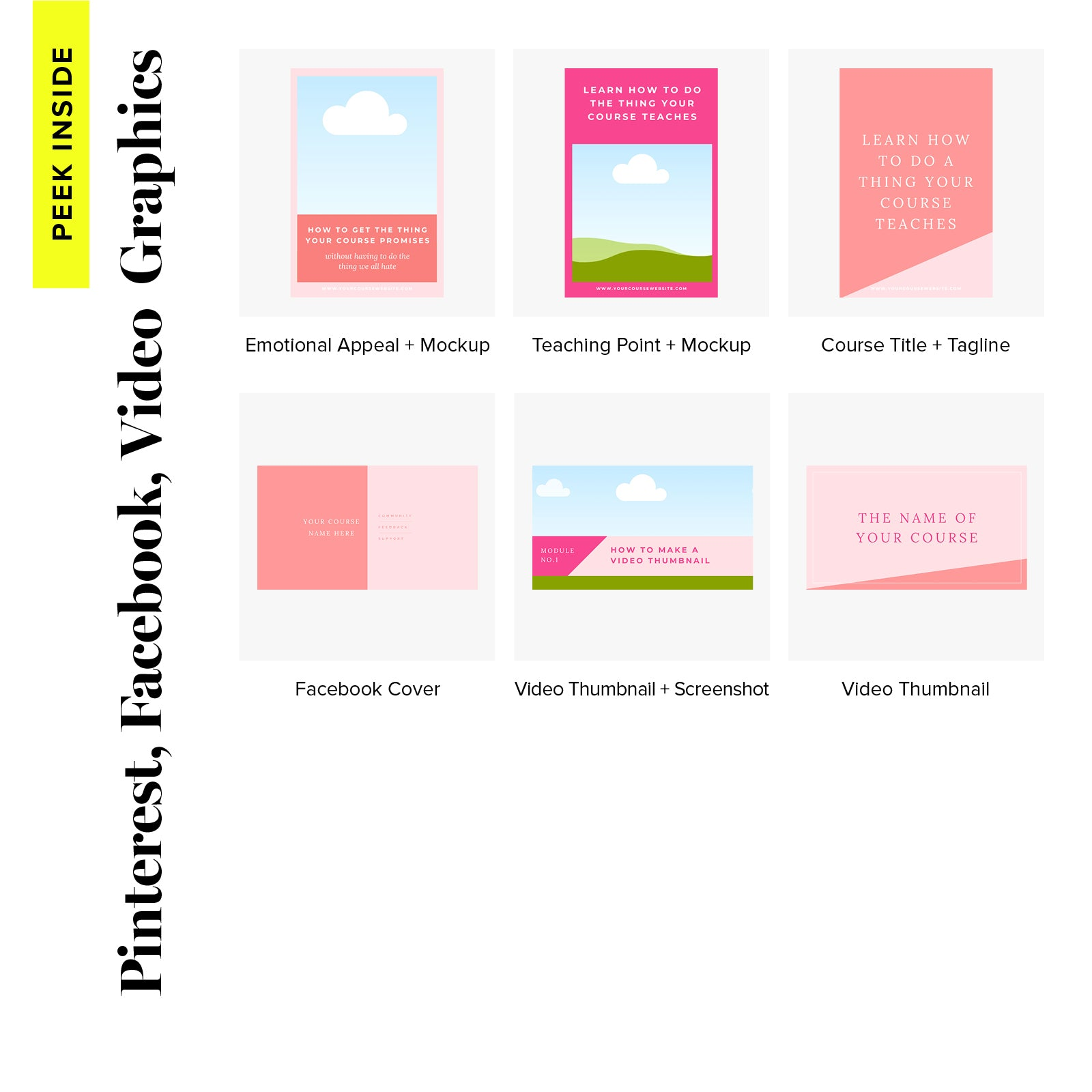 Course Design Kit - Sweet Sophisticate
