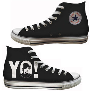 YO! Custom Hi-Top Chucks Sneakers