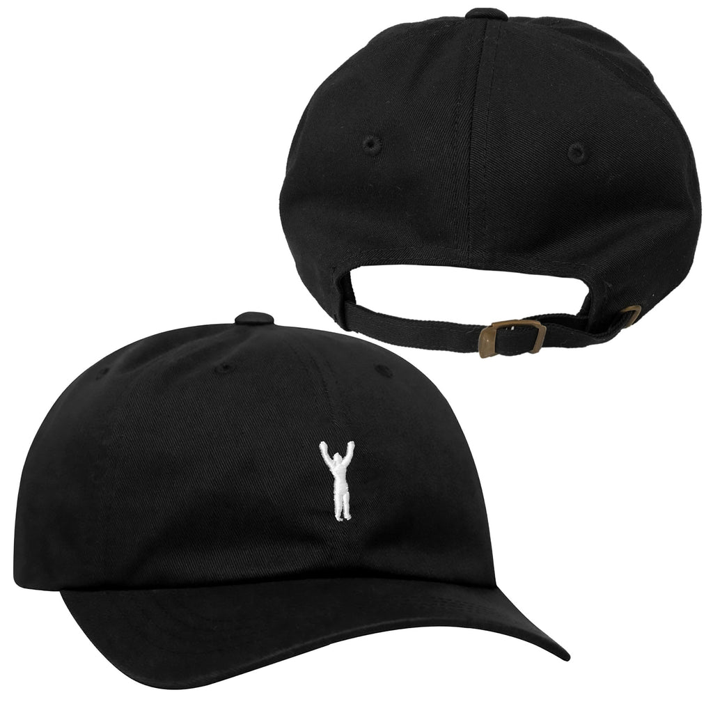 Rocky Statue Dad Hat Black