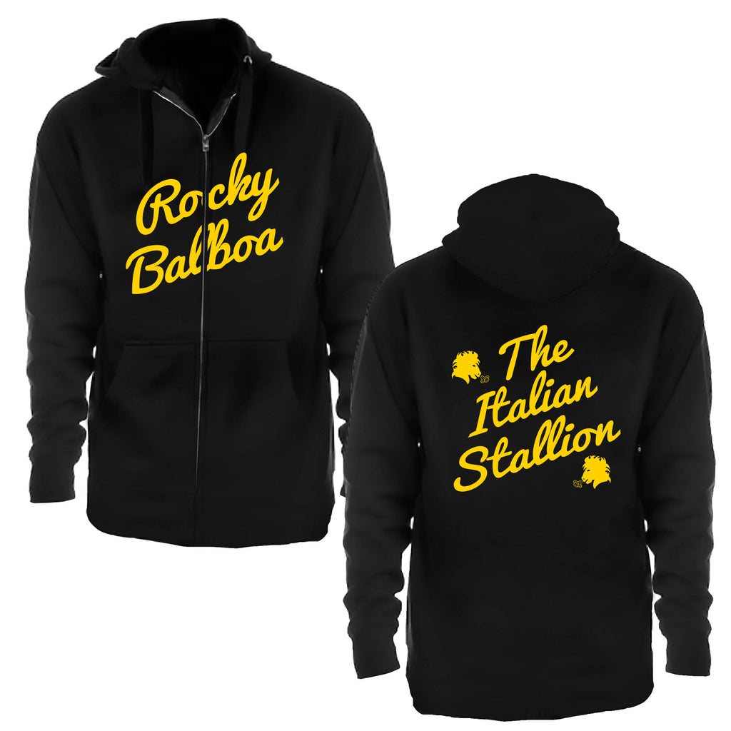 Rocky Balboa Italian Stallion Zip Up Hoodie