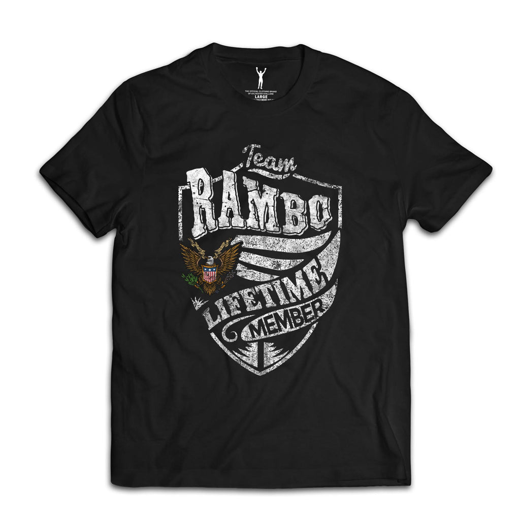 Team Rambo Lifetime Member Tee